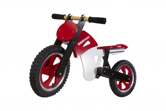 202 - Scrambler Red White (front side)
