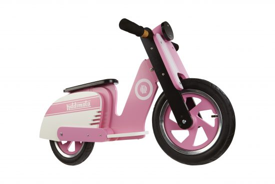 412 - Scooter Pink Stripe (front side)