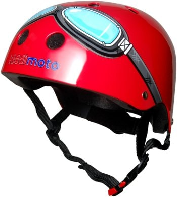 KMH006 - Helmet Red Goggle (side)