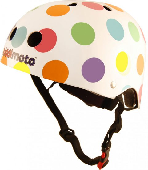 KMH023 - Helmet Pastel Dotty (side)