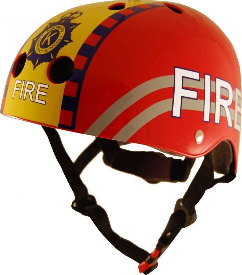 KMH025 - Helmet Fire (side)