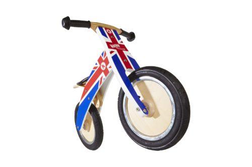 Bicicleta Sin Pedales Kiddimoto Kurve Union Jack