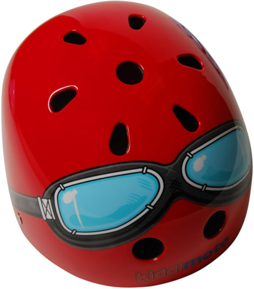 KMH006 - Helmet Red Goggle (top)