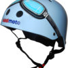 Casco Infantil Kiddimoto Blue Google