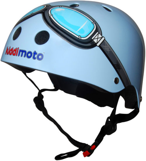 KMH007 - Helmet Blue Goggle (side)