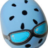 KMH007 - Helmet Blue Goggle (top)