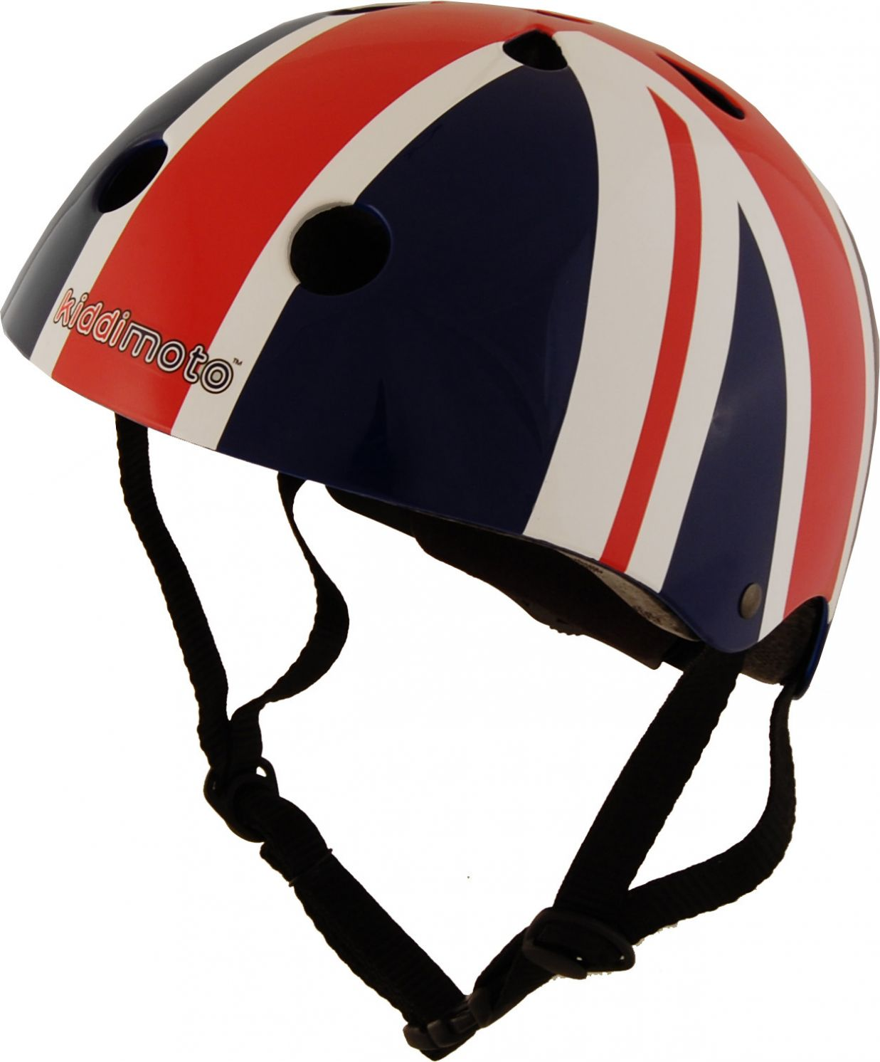 Casco Infantil Kiddimoto Union Jack