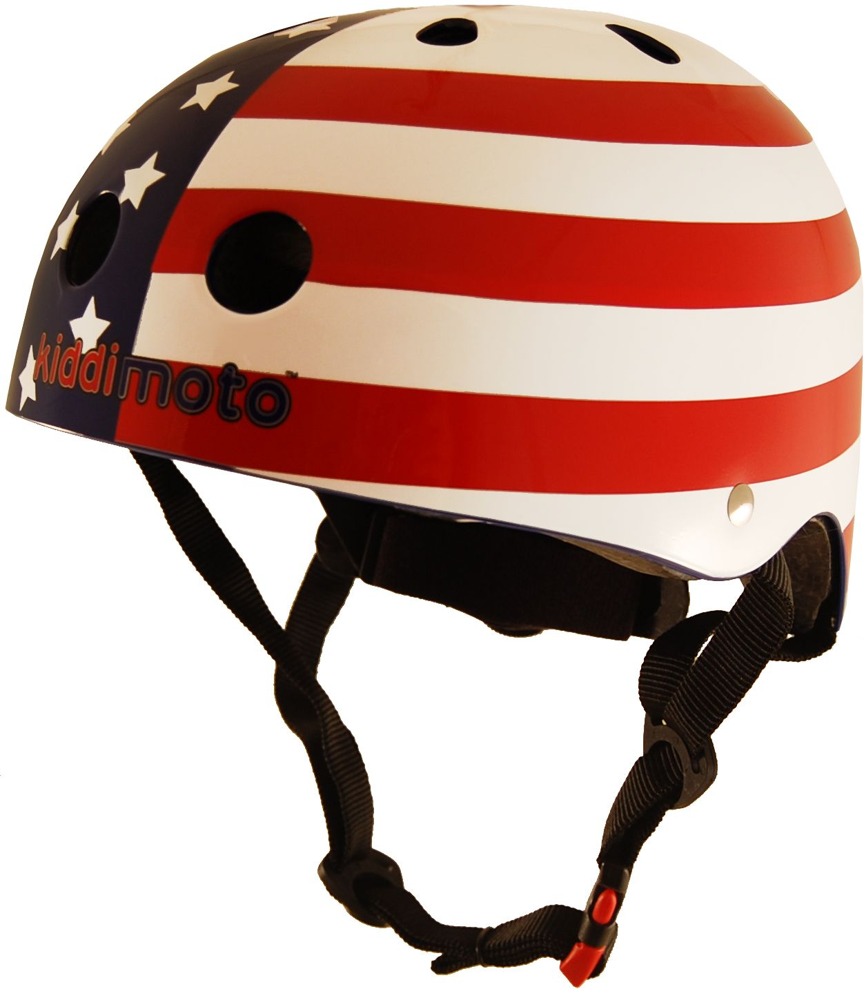 Casco Infantil Kiddimoto USA Flag