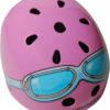 Casco Infantil Kiddimoto Pink Google