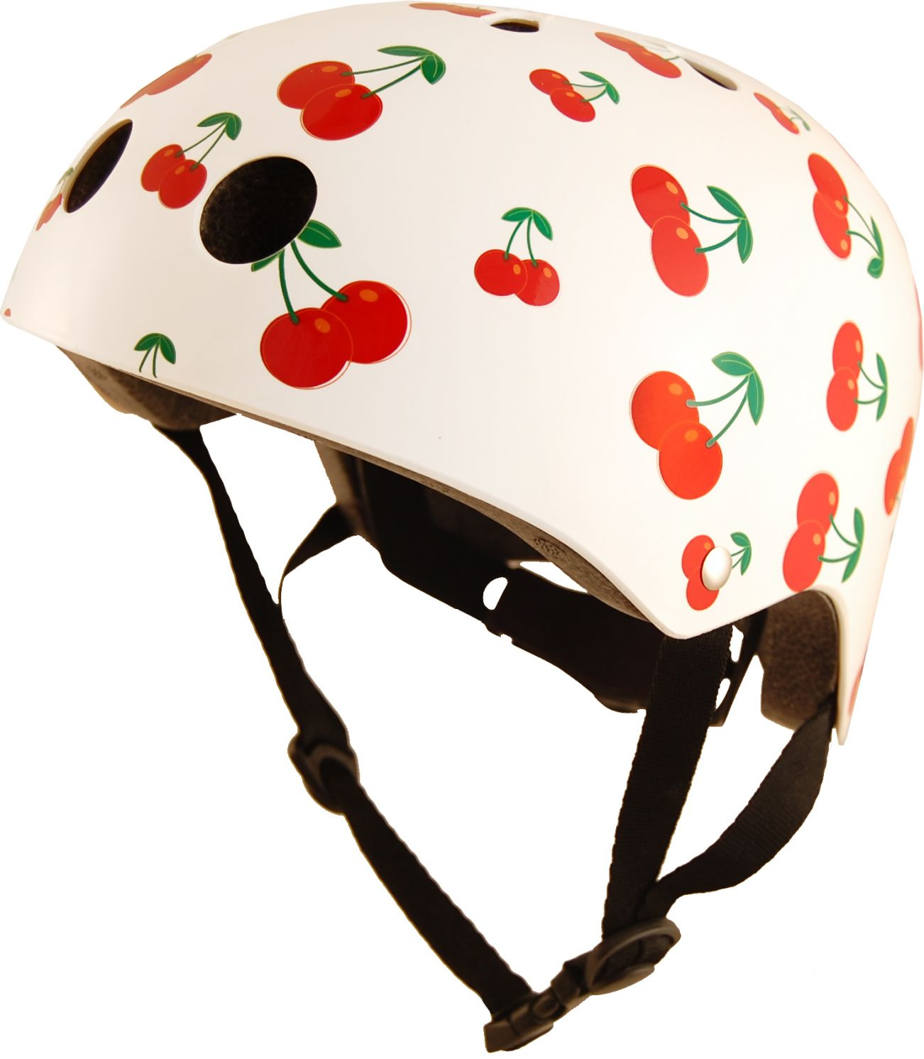 Casco Infantil Kiddimoto Cherry