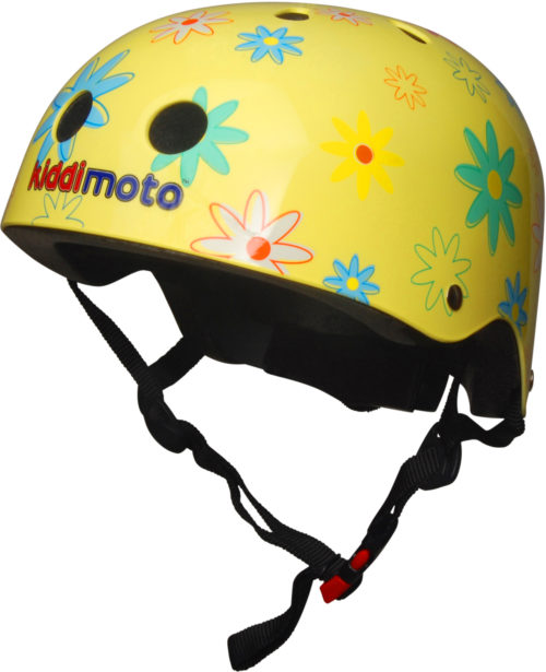 Casco Infantil Kiddimoto Flower