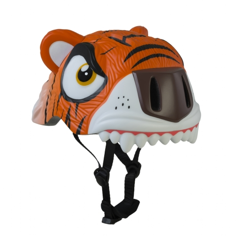 Casco Infantil Animales Crazy Safety  Tigre Naranja
