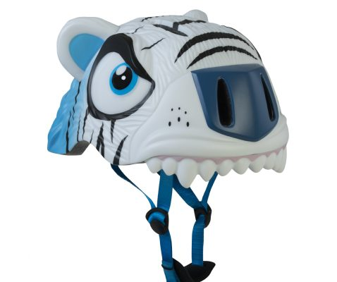 Casco Infantil Animales Crazy Safety Tigre blanco