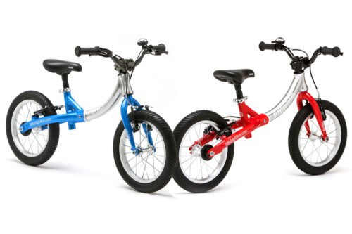 Bicicleta Evolutiva Little Big Bike - Roja y azul
