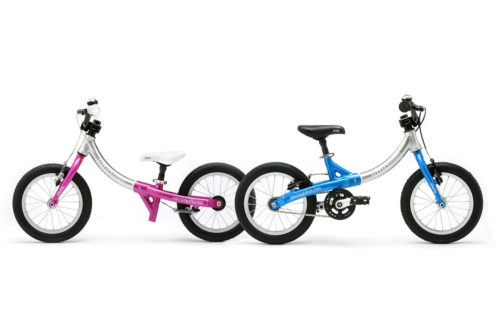 Bicicleta Evolutiva Little Big Bike - Azul y rosa
