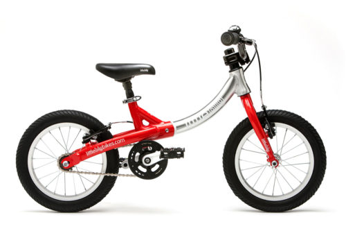 Bicicleta Evolutiva Little Big Bike - Roja - con pedales