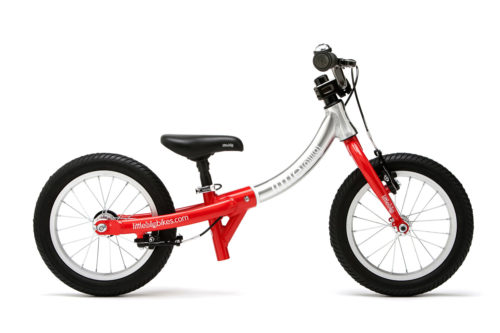 Bicicleta Evolutiva Little Big Bike - Roja - sin pedales