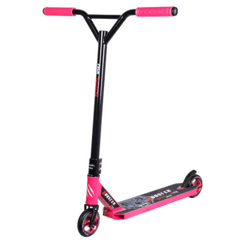 Patinete Bestial Wolf FreeStyle Booster B12  Rosa/Negro